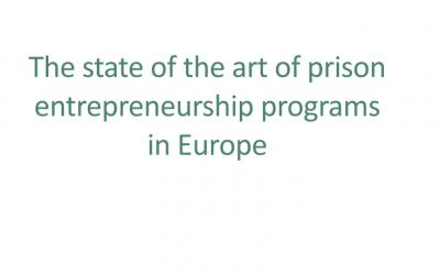 The state of the art of prison entrepreneurship programs in Europe